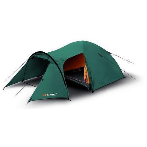 Купить лучшую кемпинговую палатку Trimm EAGLE, 3+1 местную с тамбуром недорого.