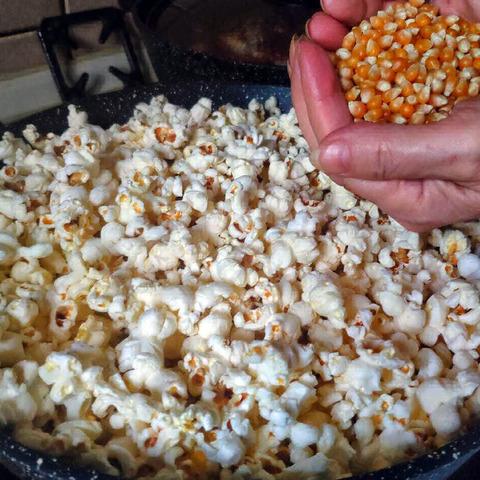 Фотография Кукуруза для попкорна / 250 гр купить в магазине Афлора