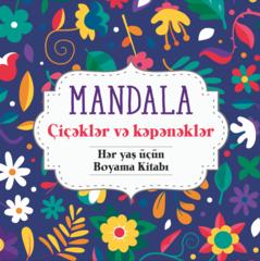 Mandala (çiçəklər və kəpənəklər)