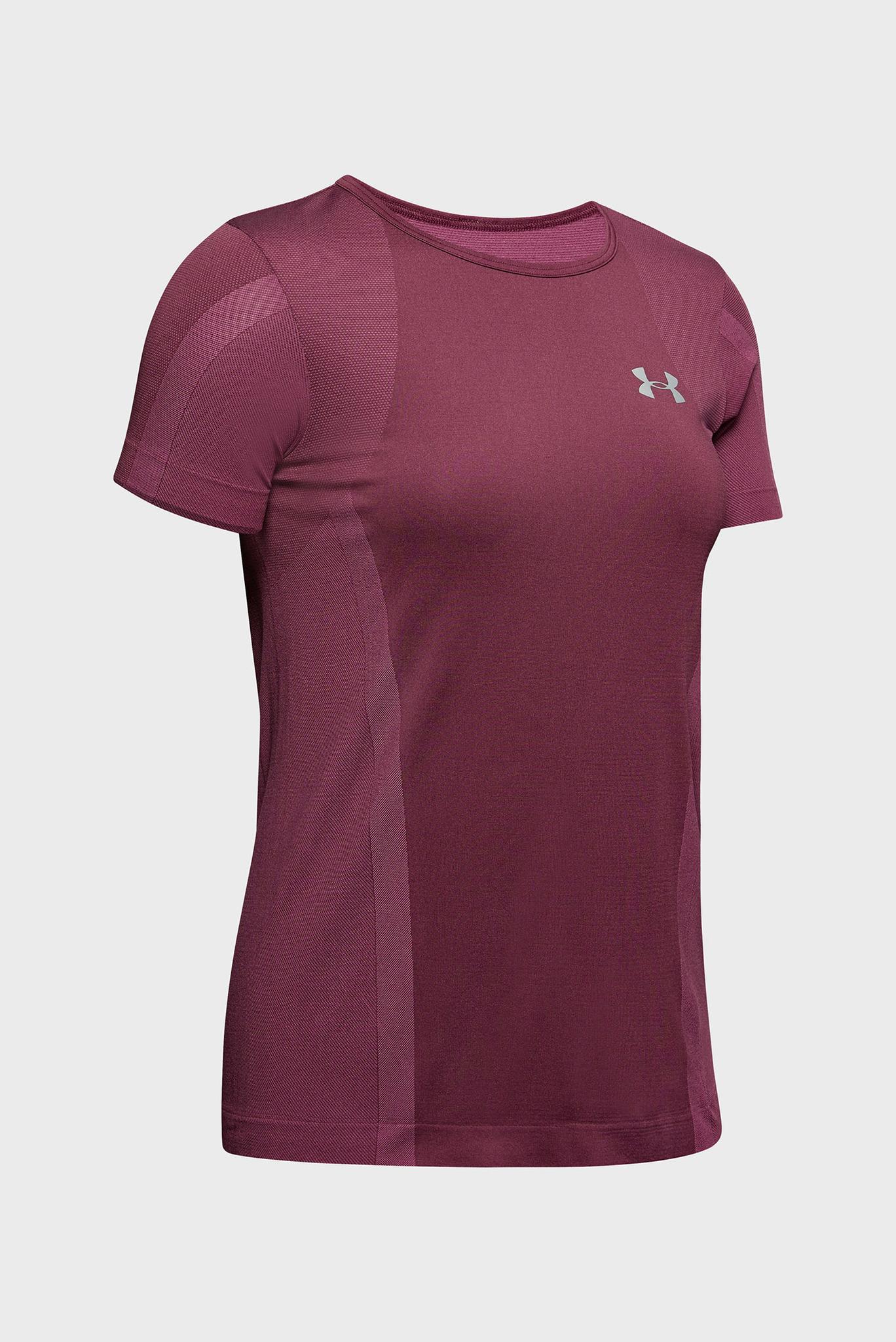 Женская фиолетовая футболка UA Vanish Seamless SS Under Armour