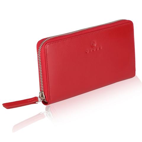 Красный большой женский кошелёк-клатч 19х10х1.5см Colors Chili CROSS AC3228287_5-8