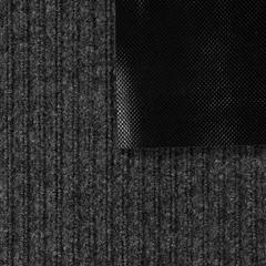 Коврик влаговпитывающий, ребристый, серый, 120*150 см