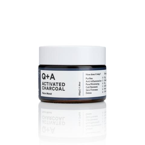 Q+A Маска для лица ACTIVATED CHARCOAL