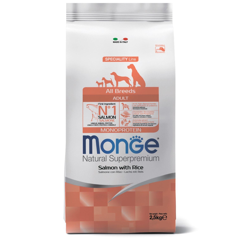 Сухой корм Корм для собак Monge Dog с лососем и рисом 70011297_1.jpeg