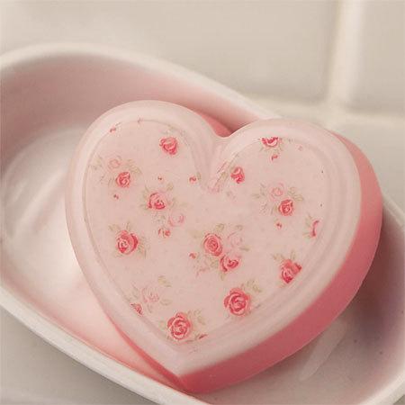 Мыло Сердце. Форма пластиковая
