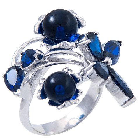 Кольцо с сапфиром Арт.1159кс