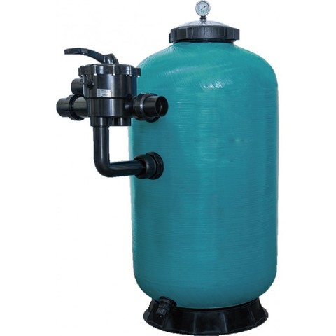 Фильтр диатомитовый шпульной навивки PoolKing DE650 18 м3/ч диаметр 635 мм с боковым подключением 2