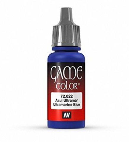 Game Color Ultramarine Blue 17 ml.