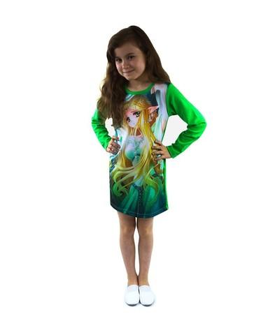 Платье Эльф детское трикотажное
