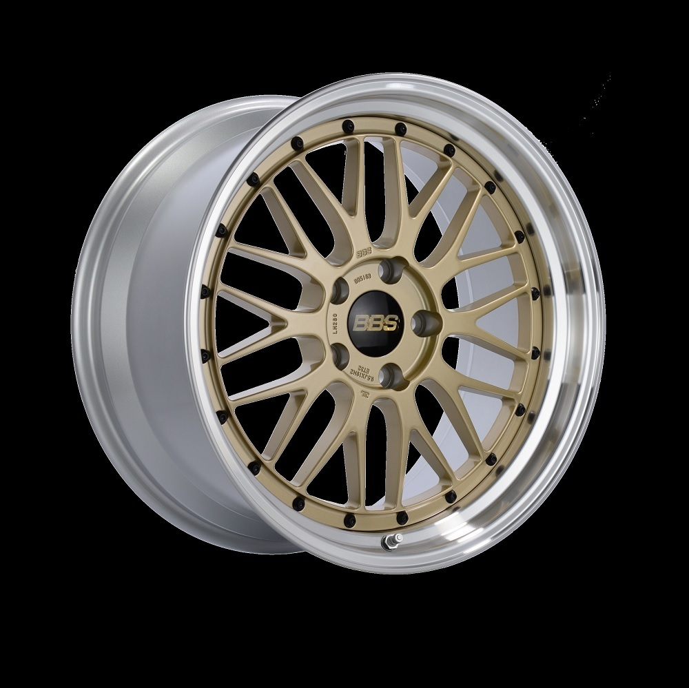 Диск колесный BBS LM 10x19 5x120 ET25 CB82.0 gold