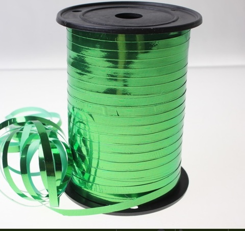 Лента металл на бобине Россия (размер: 5мм х 250ярдов) Цвет:зелёная