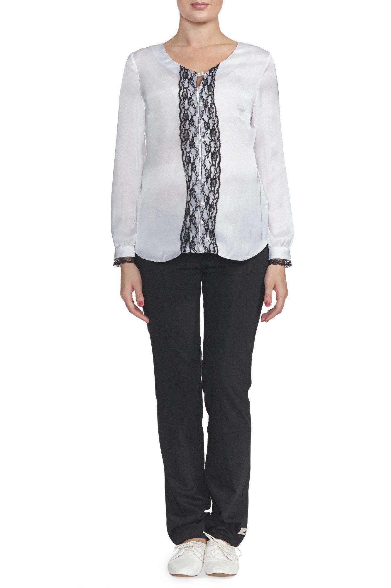 Блузка для беременных 00152 белый