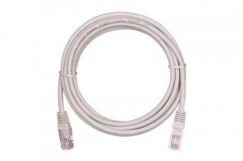 Патч-корд NETLAN EC-PC4UD55B-BC-PVC-100-GY-5 (5 шт)