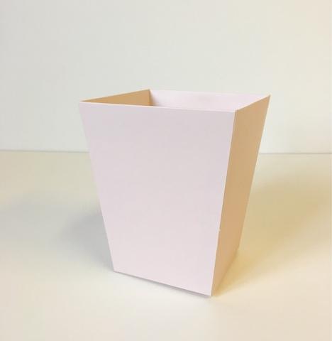 Коробка Трапеция  б/ручки крем-брюле