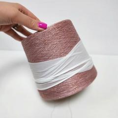 Fashion Mill, Party, Розовый, вискоза с люрексом, 3500 м в 100 г