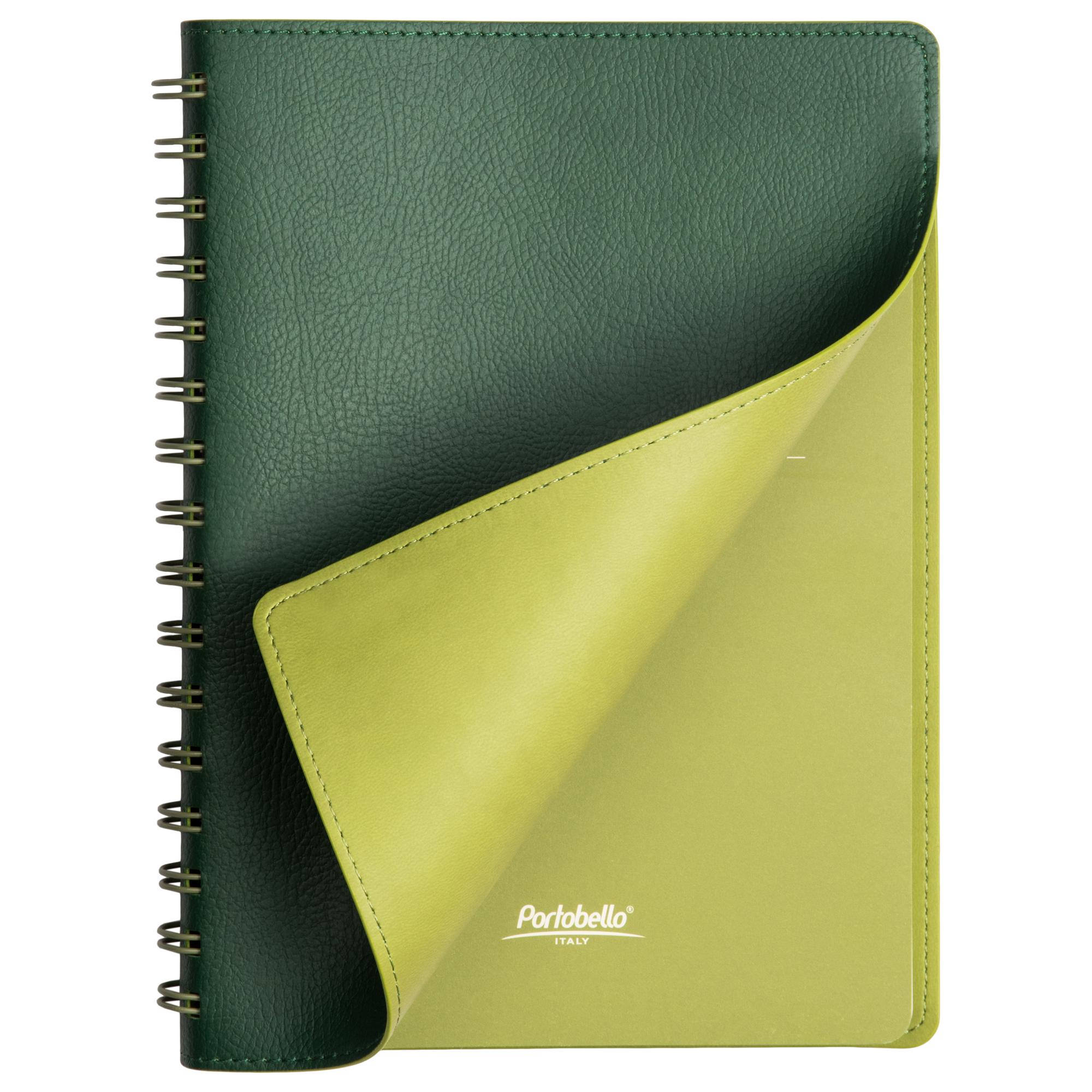 Ежедневник Portobello Trend, Vista, недатированный, зеленый/салатовый