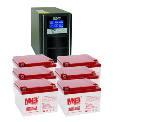 Комплект ИБП UDC9203H-АКБ MM28 (72в, 2400Вт)