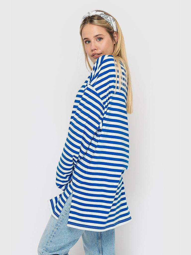 Тельняшка в синюю полоску YOS от украинского бренда Your Own Style