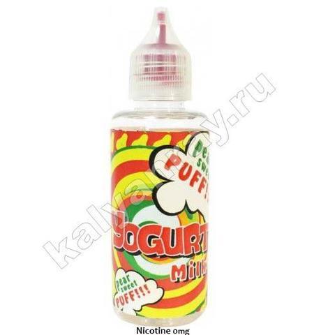 Жидкость YOGURT MILK - Pear Sweet 0% никотина