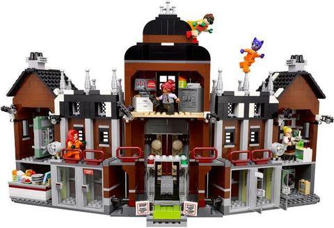 LEGO Batman Movie: Лечебница Аркхэма 70912 — Arkham Asylum — Лего Бэтмен Муви