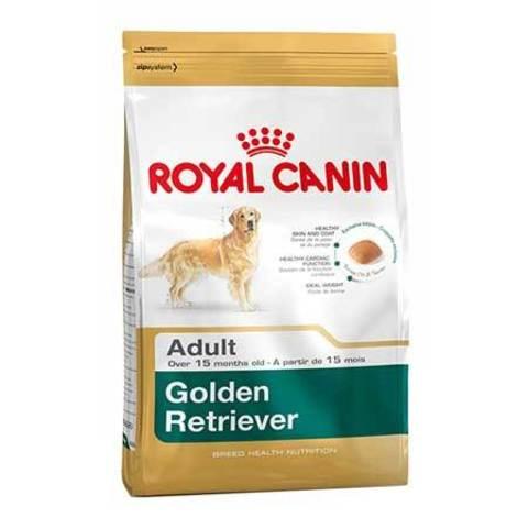 16 кг. ROYAL CANIN Сухой корм для взрослых собак породы голден ретривер Golden Retriever 25 Adult