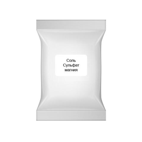 Соль Сульфат магния (соль Эпсома, магний сернокислый 7-водный MgSO4*7H2O), 100 г