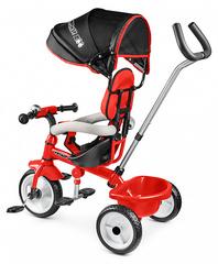 Детский трехколесный велосипед (красный)