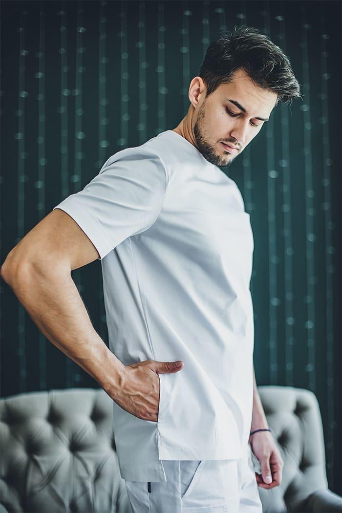 Блузы мужские медицинские М 613