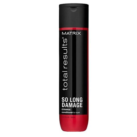 Matrix Total Results So Long Damage: Кондиционер для восстановления ослабленных волос с керамидами (So Long Damage Conditioner), 300мл/1л