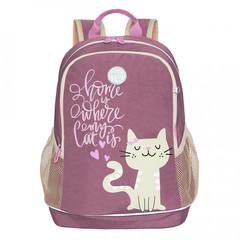 Çanta \ Bag \ Рюкзак школьный (/1 темно-розовый) RG-163-13