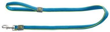 Поводки Поводок для собак, Hunter Maui 25/120, сетчатый текстиль голубой 92709.jpg