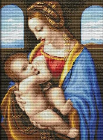 1111-20 Мадонна Литта (Мадонна с Младенцем)