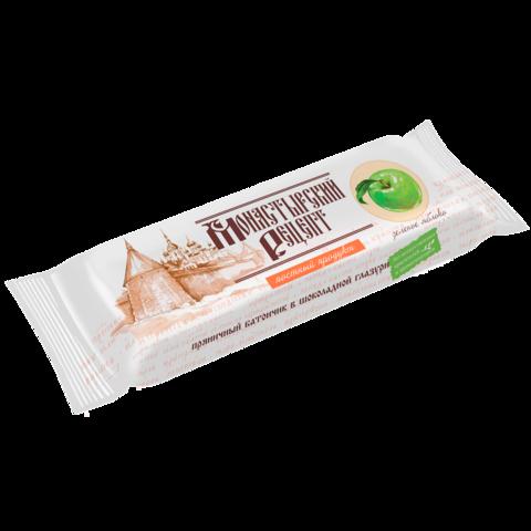 Батончик постный пряничный в шоколадной глазури