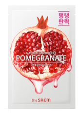 Тканевая маска для лица с гранатом, The SAEM, Natural Pomegranate Mask Sheet. 21мл