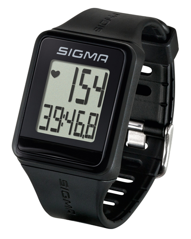 Пульсометр Sigma ID.GO черный (black)