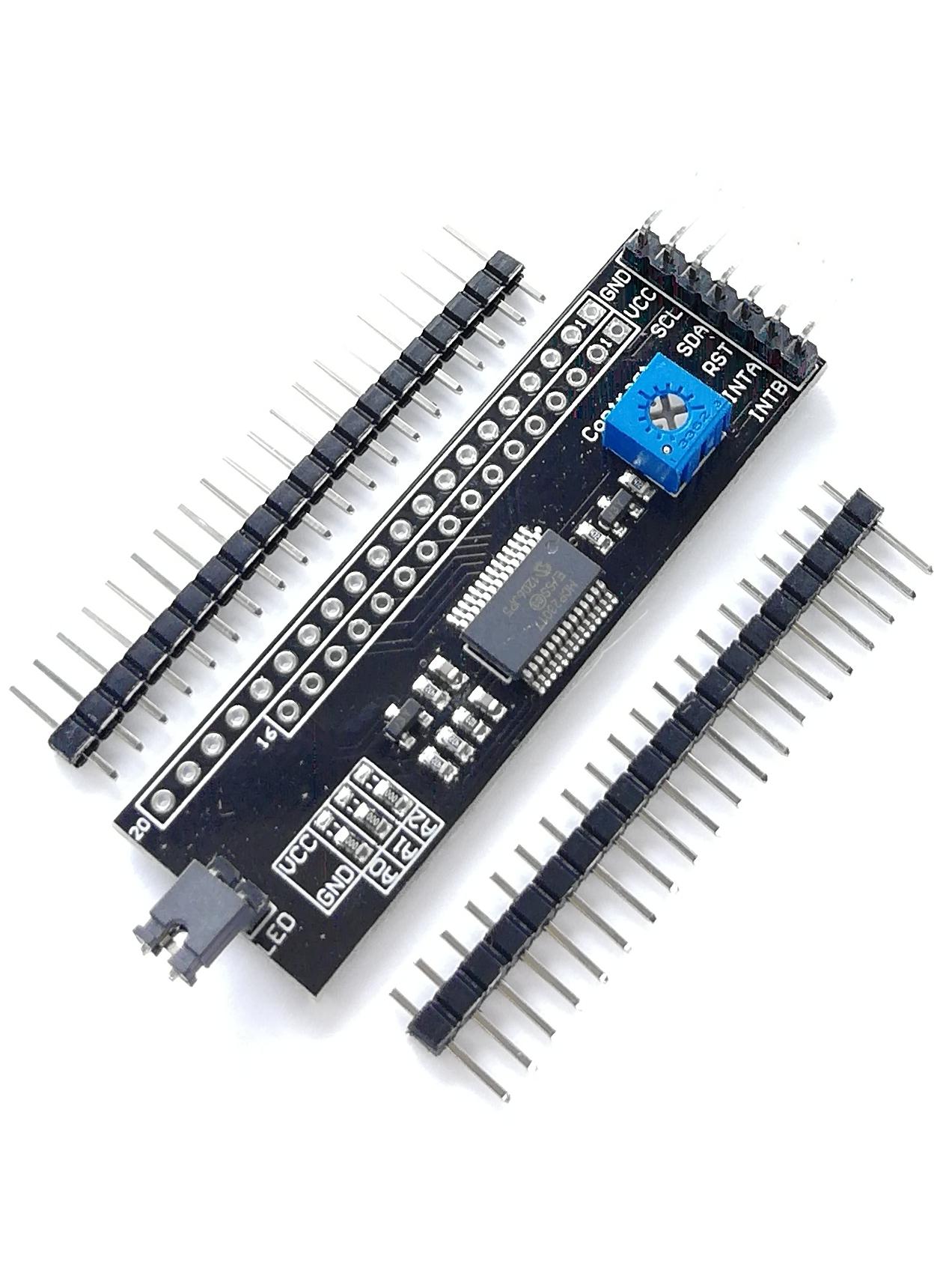 I2C конвертер для графического LCD экрана 128x64