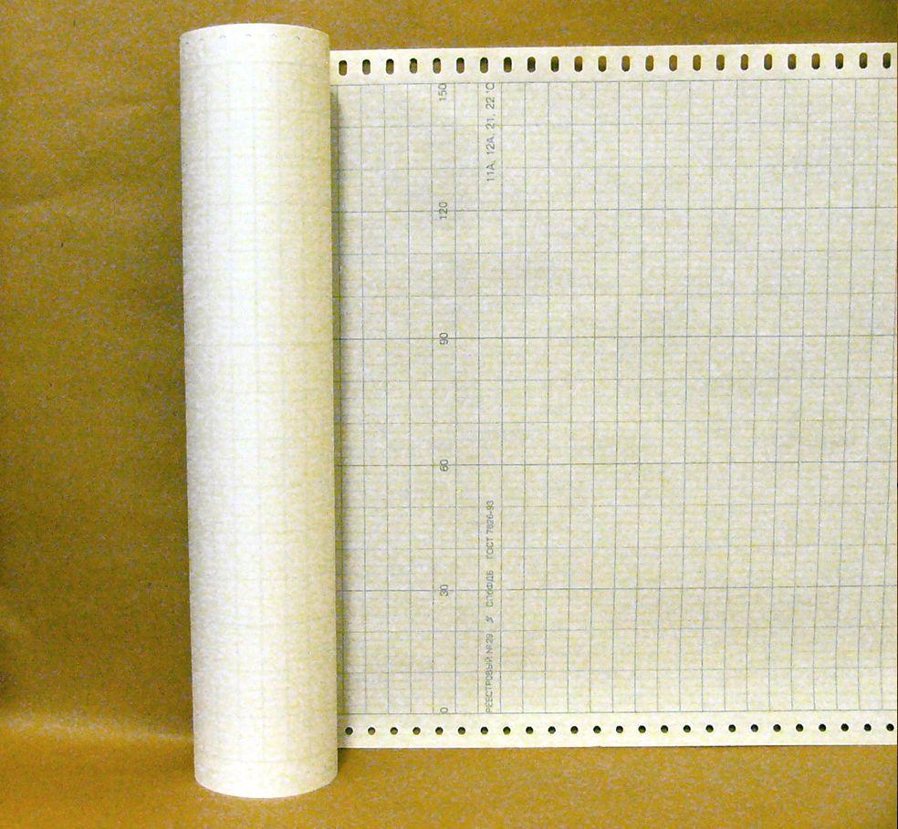 Диаграммная рулонная лента, реестровый № 29 (42,303 руб/кв.м)