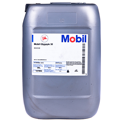 Mobil Glygoyle 30 (20л) - Индустриальное редукторное масло