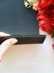 Микропористая резина 5 мм, цвет Черный, 40*25 см