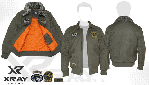 Куртка утепленная 'СWU 45/P Flyer With Patches' Olive