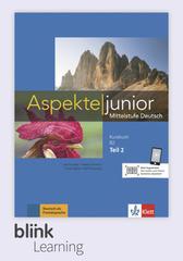 Aspekte junior B2.2, Kursbuch DA fuer Lernende