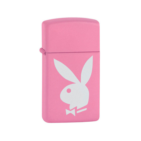 Зажигалка Zippo Slim Pink Playboy