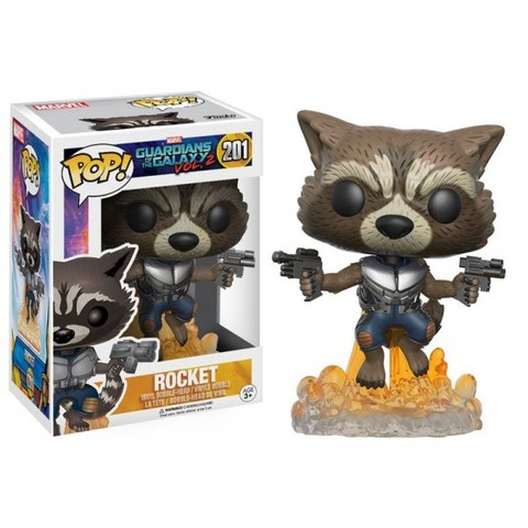 Фигурка Funko POP! Bobble: Marvel: Guardians O/T Galaxy 2: Rocket 13270