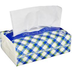 Салфетки бумажные Luscan NonStop 1-слойные белые 100 штук в пачке