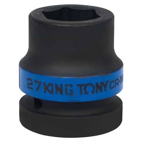 KING TONY (853527M) Головка торцевая ударная шестигранная 1