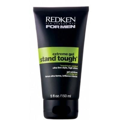 Redken For Men: Гель для укладки волос экстремальной фиксации волос у мужчин (Stand Tough Gel For Men), 150мл