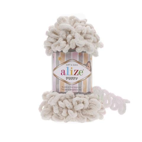 Купить Пряжа Alize Puffy Код цвета 599 Нюдовый | Интернет-магазин пряжи «Пряха»