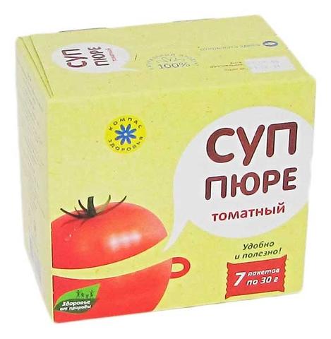 Суп-пюре ТОМАТНЫЙ 210 г (Компас здоровья)