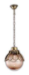 Светильник садово-парковый, 60W 220V E27 черное золото , IP44 , PL5045 (Feron)