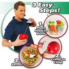 Кухонный измельчитель продуктов (чоппер) Crank Chop